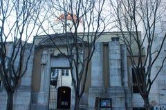 里斯本,葡萄牙:S外在门面  José (圣若瑟)教会 图库摄影