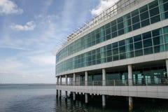 里斯本,葡萄牙- 2006年9月17日:瓦斯考da较低楼层  免版税库存照片