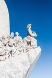 里斯本-对发现的纪念碑 免版税库存照片
