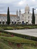 里斯本Jeronimos修道院,贝拉母,里斯本 免版税库存图片