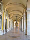 里斯本Plaça做Comercio 图库摄影
