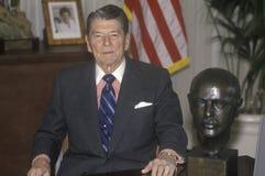 里根总统 库存照片