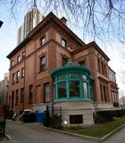 里格利豪宅的西南看法 库存照片