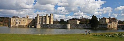 里氏古堡在英国 免版税库存照片