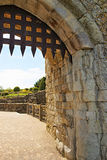 里氏古堡门在肯特 免版税库存图片