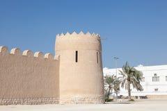 里法堡垒在巴林 库存图片