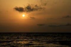 里海 免版税图库摄影