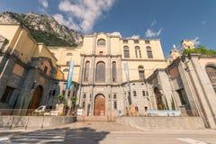 里瓦德尔加尔达,特伦托,意大利的水力发电站 图库摄影