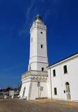 里米尼-古老灯塔 免版税图库摄影