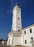 里米尼-古老灯塔 库存图片
