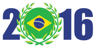 里约奥运会2016年 免版税图库摄影