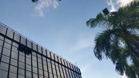 里约布兰科城市天空  图库摄影