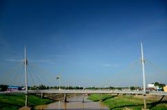 里约布兰科桥梁 免版税库存图片