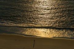 里约海滩 免版税图库摄影