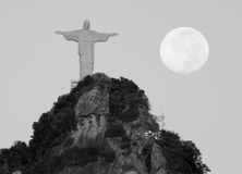 里约热内卢基督象里约 免版税库存图片