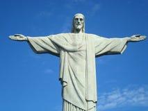 里约热内卢基督象-基督救世主 免版税库存照片