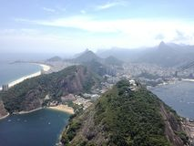 里约热内卢山  免版税库存图片