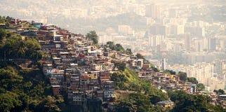 里约热内卢巴西Favelas  免版税库存图片