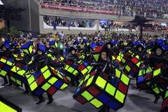 里约热内卢狂欢节 免版税库存图片