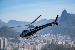 里约热内卢直升机游览 免版税库存图片