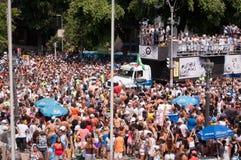 里约热内卢街狂欢节 免版税图库摄影