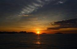 里约热内卢-日出 免版税图库摄影