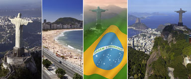 里约热内卢-巴西-南美 免版税库存照片