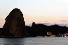 里约热内卢- Sugarloaf 免版税库存图片