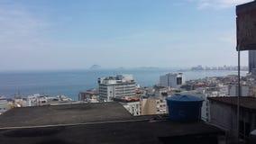里约热内卢favela巴西 库存照片