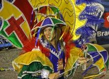 里约狂欢节2014年 库存图片