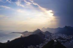 里约风景 库存图片
