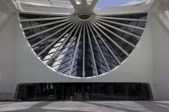 里约香港大会堂在港区打开明天博物馆  免版税库存照片