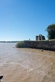 里约de la Plata河,乌拉圭,阿根廷 游遍sou 库存图片