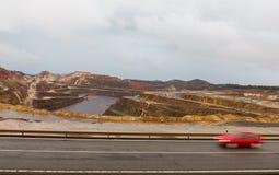 里约Tinto矿 免版税库存照片