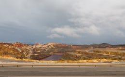 里约Tinto矿 库存图片