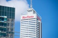 里约Tinto总部珀斯西澳州 免版税库存照片