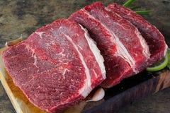 滑里股肉牛肉 免版税库存照片