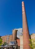 贝里能源厂在温斯顿萨兰姆 免版税库存照片