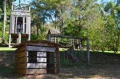 里贝朗普雷图,地区米纳斯吉拉斯州,巴西:放松本机大牧场的一个地方 免版税库存照片