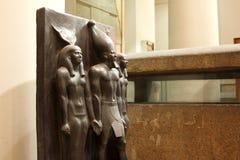从里边埃及博物馆 库存照片