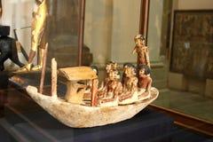 从里边埃及博物馆 免版税库存照片