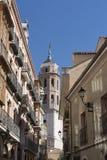 巴里阿多里德卡斯蒂利亚y利昂,西班牙:大厦 免版税图库摄影