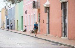 巴里阿多里德,墨西哥居民  免版税库存图片