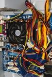 里面个人计算机 库存照片