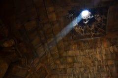 里面中世纪亚美尼亚修道院 免版税库存图片