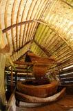 里面传统风车 库存照片