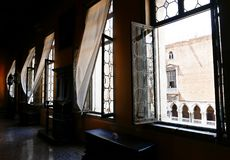 里面共和国总督` s宫殿 库存图片