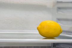 里面冰箱 免版税图库摄影
