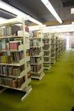 里面图书馆 免版税库存图片