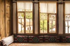 里面土耳其村庄房子 免版税图库摄影